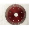 China Dark Red Diamond Masonry Blade For Circular Saw Marble Super Thin Type wholesale