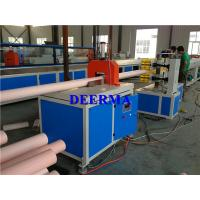 China PVC Plastic Pipe Extrusion Line / Machine to Making PVC Pipe for Power Supply on sale