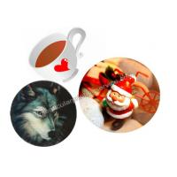 Quality Customized Flip Effect 3D Lenticular Placemats Coasters Waterproof For House for sale