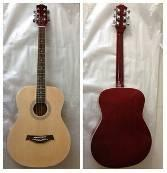 China 40 inch Wood Acoustic Guitar blue / yellow with Basic Style AF4010A wholesale
