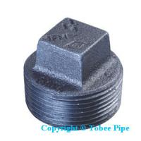 Quality Malleable iron PLUG pipe fitting for sale