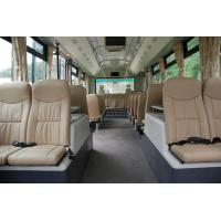 China 13 Seater Cummins Engine VIP Airport Shuttle Bus Luxury Coach Bus wholesale