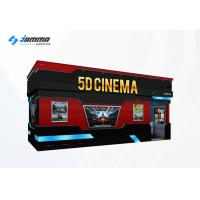 China Optional Seats 5D Movie Theater Luxury Motion Chairs Flat Screen Dual Core Computer wholesale