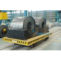 China Structural Steel Railway Motorized Transfer Trolley / Truck For Warehouses Transportation wholesale