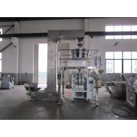 China Auto Multihead Weigher Packing Machine For Potato Chips Electric Driven Type wholesale
