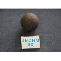 China B2 Grinding Balls For Mining , D60MM Hot Rolling Steel Balls Good tougness wholesale