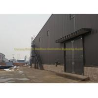 China Q345 Prefabricated Warehouse Steel Structure Garage ASTM BS DIN Standard wholesale