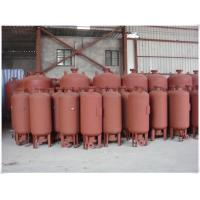 China 30 Gallon Air Compressor Replacement Tank , Air Compressor Vertical Tank With Legs wholesale
