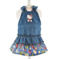 Buy cheap 2019 denim sleeveless girl doll dress for18 inch american girl doll clothes from wholesalers