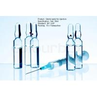 China Sterile Parenteral Adminstration USP Sterile Water For Injection 10Ml plastic and glass ampoule wholesale