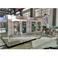 China Automatic Glass Bottle Carbonated Soft Drink Filling Machine /  Production Line wholesale