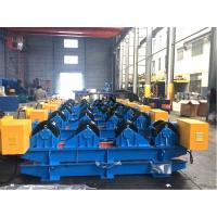 China 15 Ton Tank Turning Rolls With Motors / Gearbox Workpiece Dia. Range 600 - 4200mm wholesale