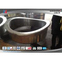 China Large Scale Forging Stainless Steel Weld Neck Flanges Rough Machining on sale