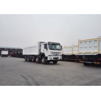 Buy cheap SINOTRUK HOWO 8X4 Dump Truck  Heavy Duty Truck With 30m³ Cubage Capacity For Mining from wholesalers