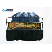 China Luxury 12 Seats Motion Chair 5D Cinema Simulator With 3D Glasses wholesale
