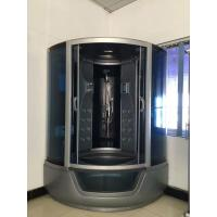 China ABS Material steam double shower cabin with tray ,  150 X 150 X 220 / cm complete shower cabins wholesale