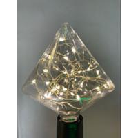 Buy cheap Heart Shaped Decorative Filament Light Bulbs Diamond Star Copper Wire from wholesalers
