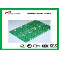 China Tamura Matte Green Single Sided PCB   1L FR4 1.6mm Immersion Gold PCB wholesale