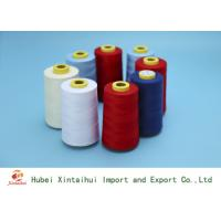Quality 50/2 Multi Colored Spun Polyester Thread For Sewing Good Colour Fastness for sale