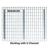 China High Visible Teardrop Pallet Rack Wire Decking 3 Channels Pallet Racking Accessories wholesale