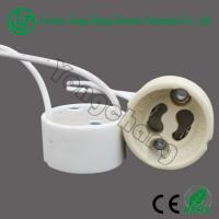 Buy cheap GU10 led holder halogen ceramic base from wholesalers