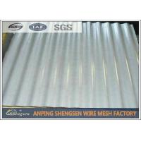 China Galvanized / Power Coated Steel Corrugated Sheets Cold Rolled High - strength wholesale