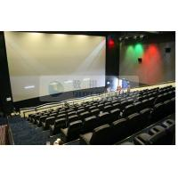 China Pneumatic / Hydraulic / Electronic Control 4D Motion Cinema with removable theater seats wholesale