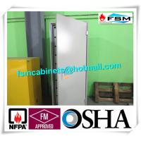 China Security Metal Storage Cabinet With Doors , Locking File Cabinet For Diskette / Magnetic Tape wholesale
