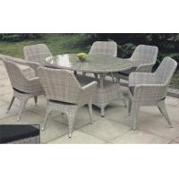 China Outdoor furniture rattan dinning set --16018 wholesale