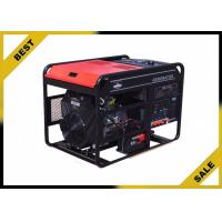 China Open Frame Portable Power Generator In Red  , 6 Kw Diesel Power Generator With Electric Starting wholesale