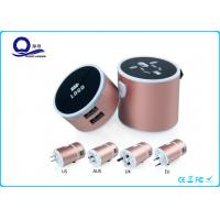China Lighting Logo USB Universal Travel Charger With Multi Functional Conversion Socket wholesale