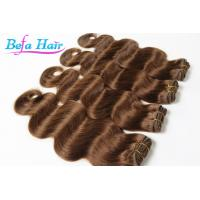 China Customized Coloured Blonde European Human Hair Extensions Bundles wholesale