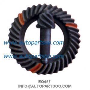China NUCLEO DEL EQ457 RELACION, NS EQ457 Heavy Truck Crown Wheel and Pinion Gear wholesale