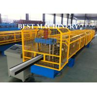 China K Type PPGI Gutter Roll Forming Machine For Take Roof Rainwater wholesale