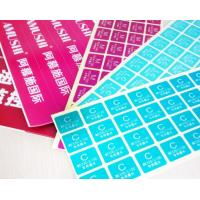China Packaging Custom Peel And Stick Labels , Removable Adhesive Labels For Food wholesale