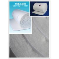 China 2m X 20m X 22 mm EU5 filter Synthetic Fiber Medium Material with CE wholesale