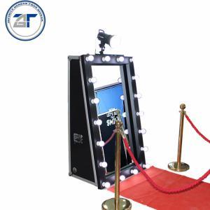 China Portable Photobooth Kiosk, Selfie Photo Booth Kiosk, Magic Mirror Photo Booth Machine Malaysia on sale