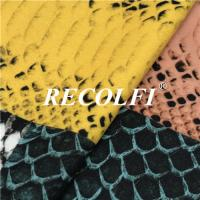 China Snake Designs Eco Friendly Recycled Spandex Fabric For Yoga Wear Fabric wholesale