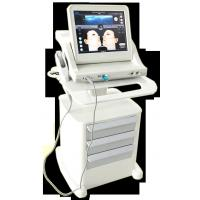 Buy cheap Super Stand Stype Three Heads Face Lifting Hifu Machine , 800w Power Skin Rejuvenation 10000 Shots product