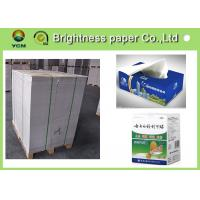 China Lightweight White Back Duplex Board Paper Low Surface Roughness wholesale