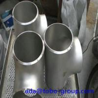 China 12 Inch Sch40 Butt Weld Fittings Stainless Steel Equal Tee WPS33228 wholesale