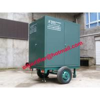 China Onsite maintenance transformers Oil Purification Machine, mobile insulation oil refinery wholesale