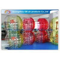 China Custom Amazing Bubble Suit Inflatable Bumper Ball For Sports Entertainment wholesale