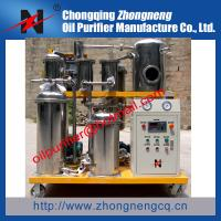 China Hydraulic Oil Purification Plant, Hydraulic Oil Treatment Machine,304 Stainless Steel type wholesale