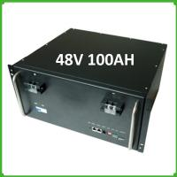 China Lifepo4 battery 48V 100Ah lithium ion battery pack for solar energy storage wholesale