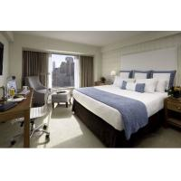 China Deluxe Hotel Room Furnishings ,  King Size Hotel Guest Room Furniture In PU Finish wholesale