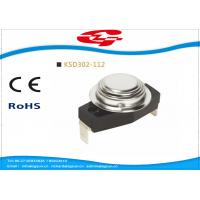 China KSD302-112 Automatic reset Snap Disc Thermostat , Bimetal Disc Thermostat wholesale