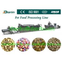 Quality Automatic Pet Food Extruder Machine for dog , cat , fish for sale