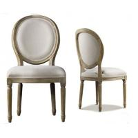 China Antique Commercial Restaurant Furniture Indoor Fabric Dining Room Chairs wholesale