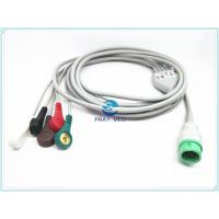 China Mindray Beneview T5 / T8 ECG Patient Cable For Datascope 4.0mm Diameter wholesale